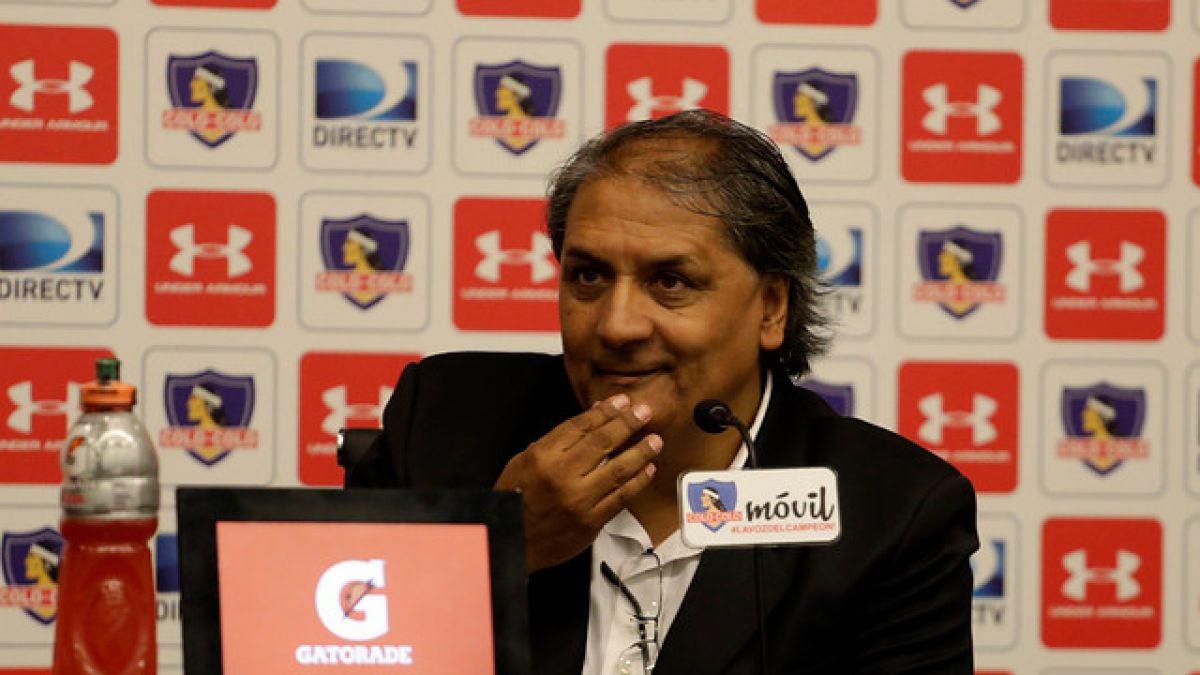 Juan Gutiérrez deja su cargo en Colo Colo
