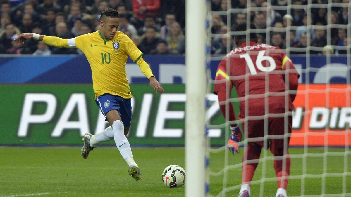Revancha para Brasil y Neymar se acerca a Pelé