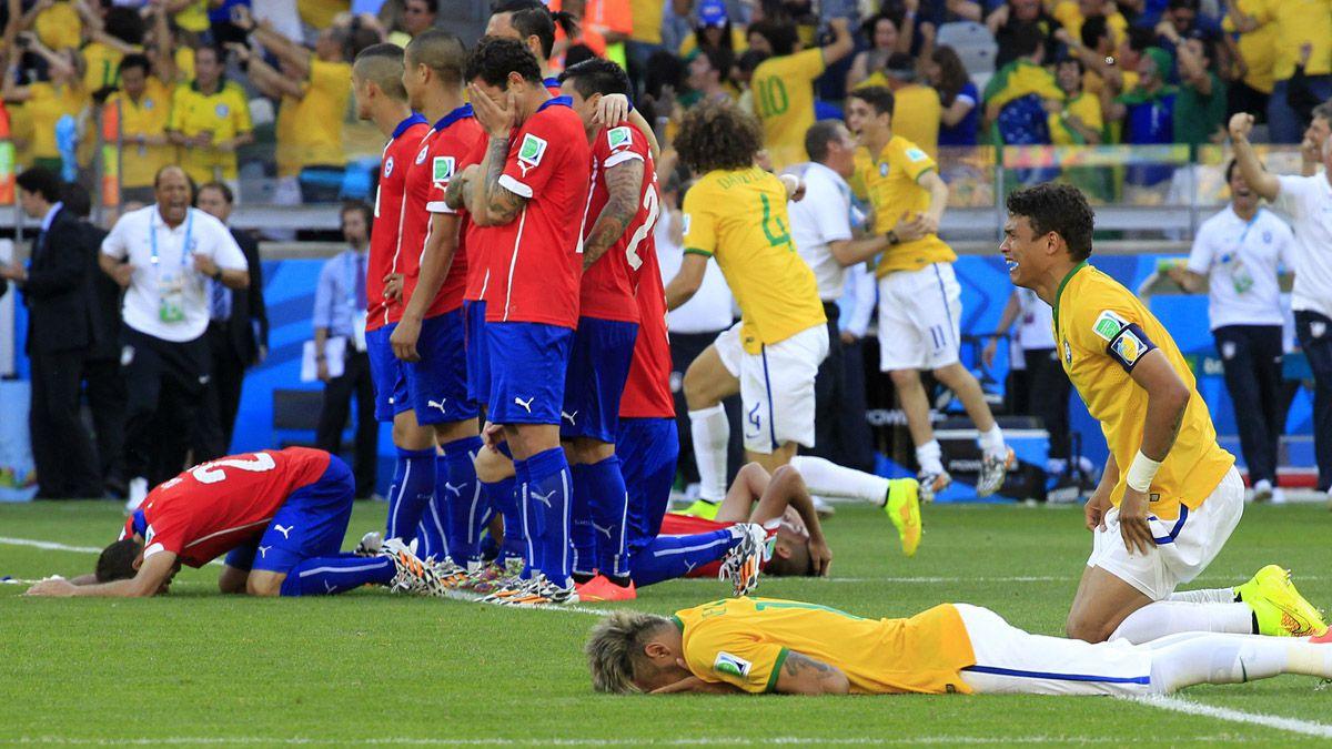 [FOTOS] Los 7 inolvidables partidos entre Chile y Brasil