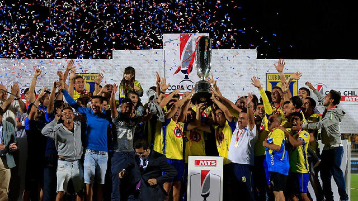 Universidad de Concepción se coronó campeón de la Copa Chile