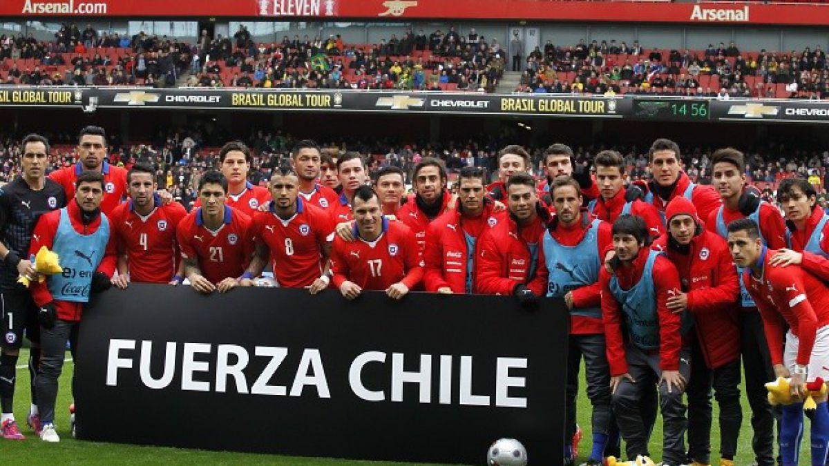 El mensaje de La Roja al país: Fuerza Chile