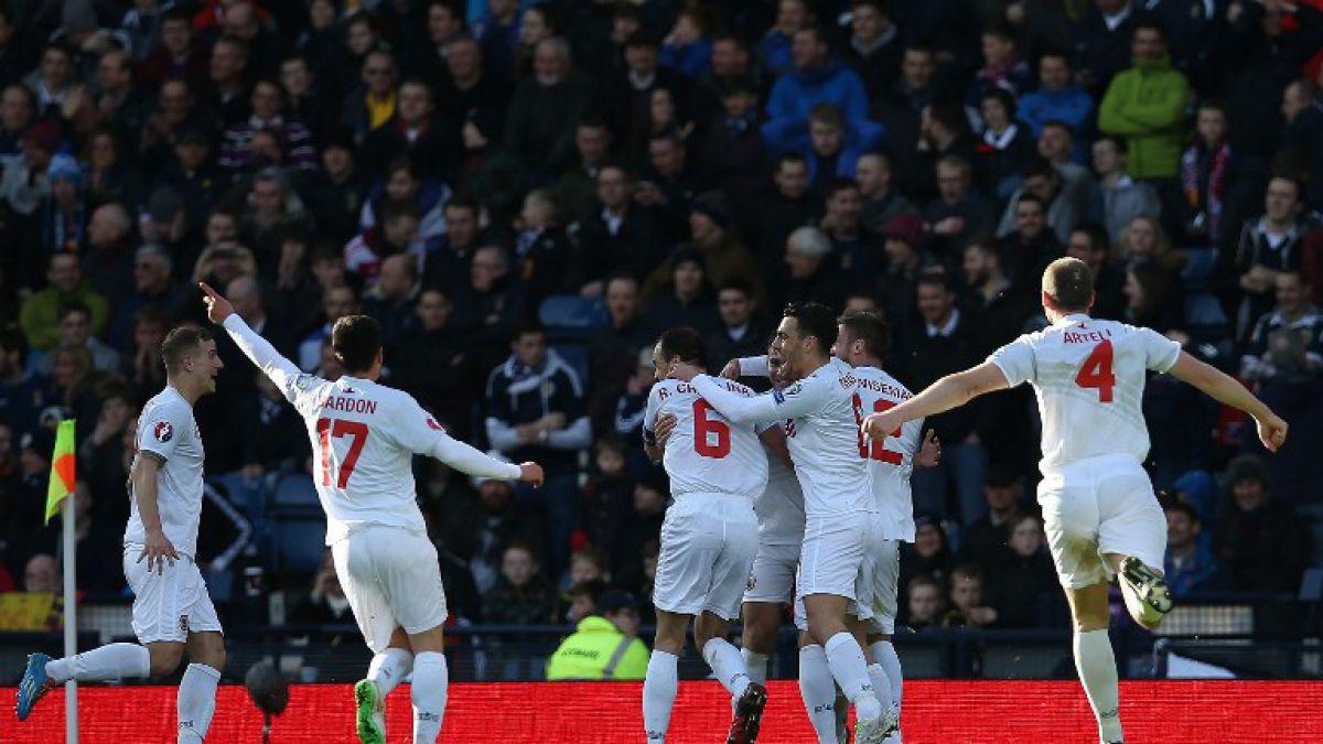 La selección de fútbol europea que convirtió su primer gol oficial en la historia