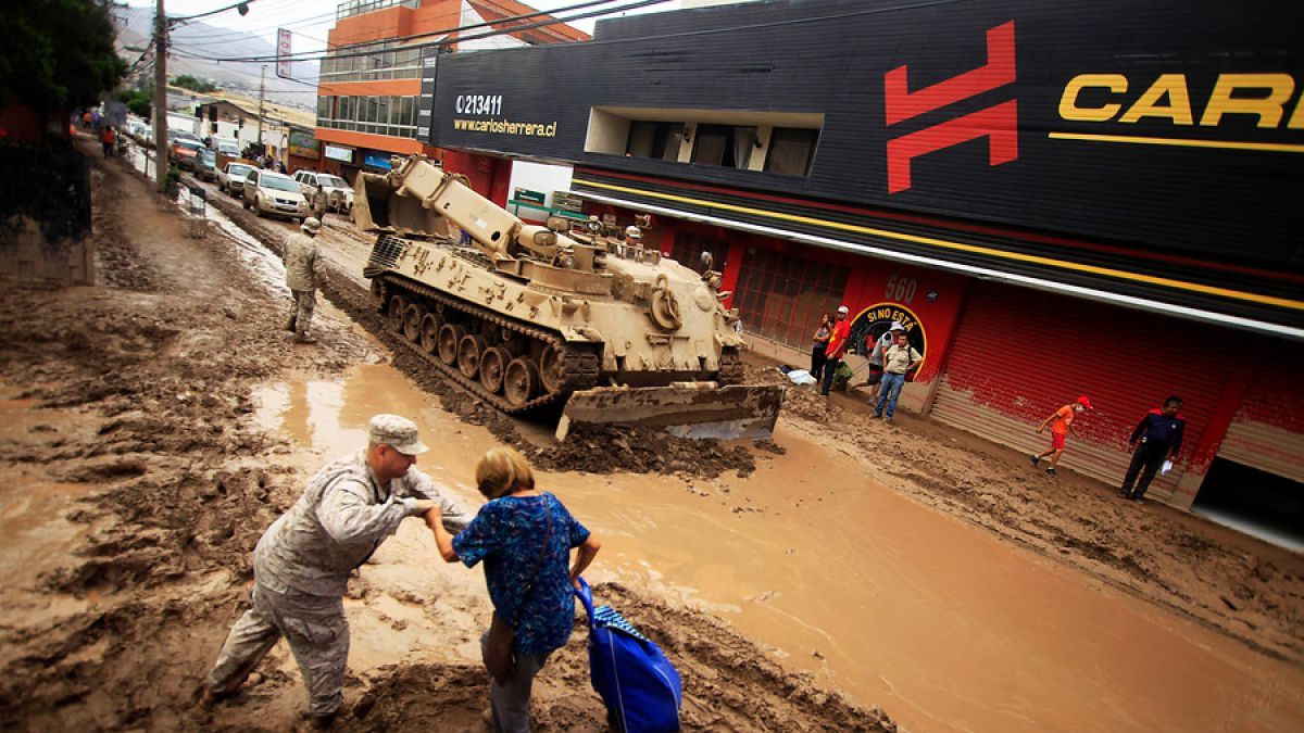 Gobierno anuncia bono de $1.200.000 para familias afectadas por catástrofe en el norte