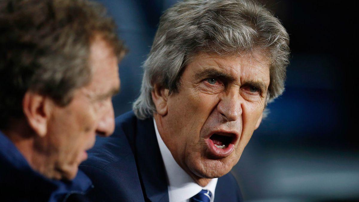 [VIDEO] El minuto de furia de Manuel Pellegrini en la Premier League