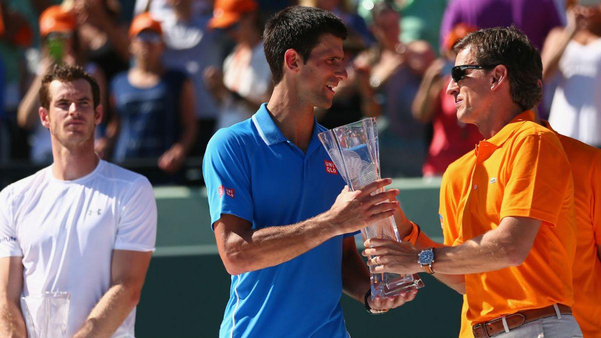 Djokovic vence a Murray y gana su quinto Masters 1000 de Miami