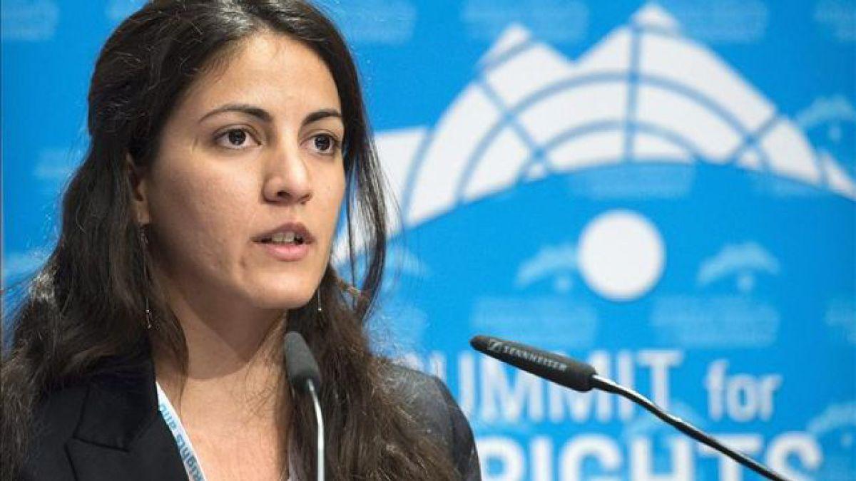 Detienen a disidente cubana Rosa María Payá en su llegada a Panamá