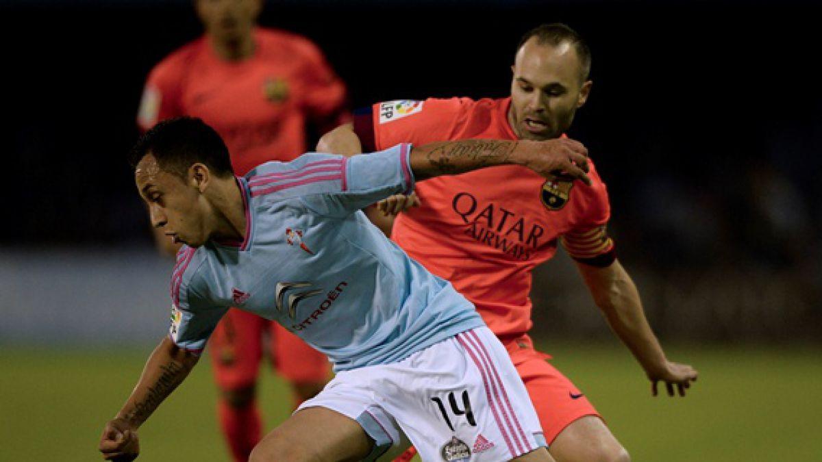 Orellana pide disculpas tras su inexplicable reacción ante Barcelona