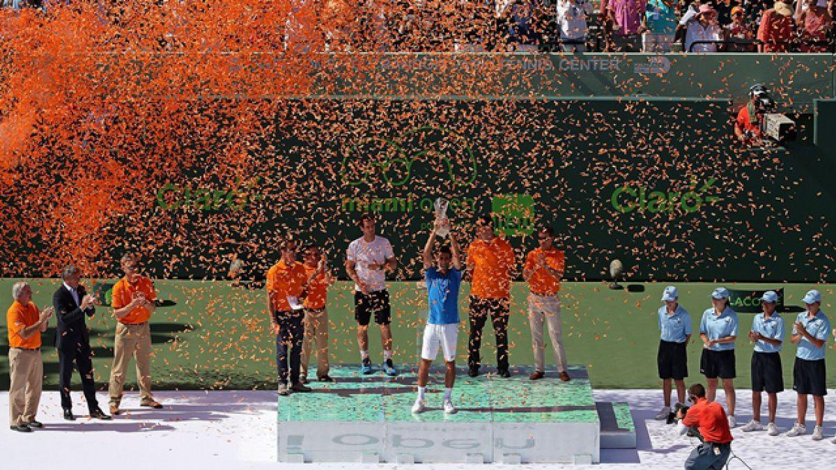 Así quedó el ranking ATP tras el Abierto de Miami