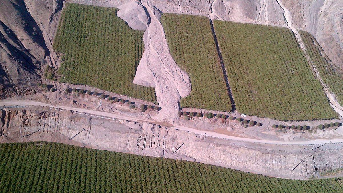 Fedefruta teme pérdida de producción de Atacama por daños en canales de riego tras aludes