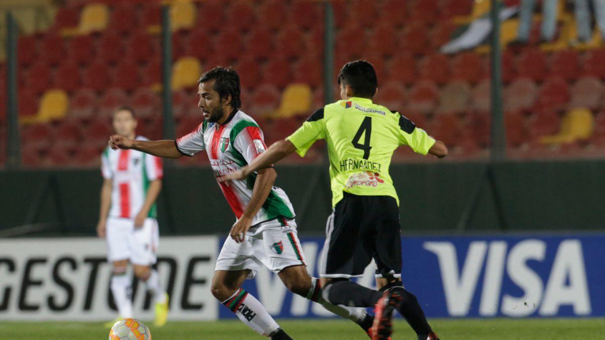 [Minuto a minuto] Palestino vence a Zamora por Copa Libertadores