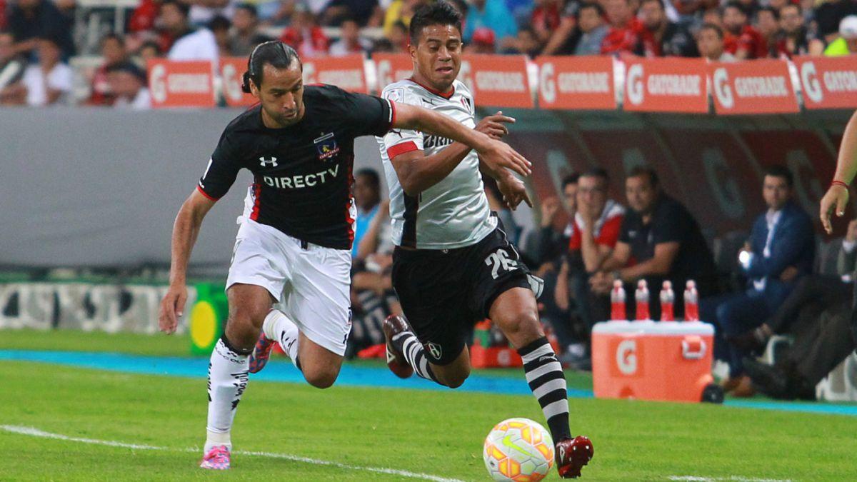 Colo Colo derrota a Atlas y acaricia los octavos de final de la Libertadores