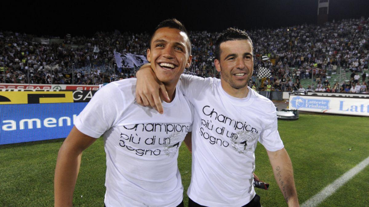 Antonio Di Natale asegura que prefiere a Alexis Sánchez por sobre Neymar
