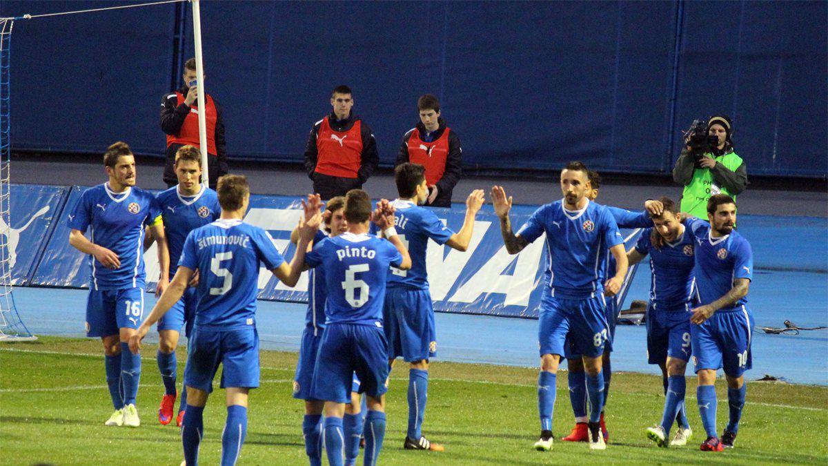 [VIDEO] Ángelo Henríquez le dio la victoria a Dinamo Zagreb en la Copa de Croacia