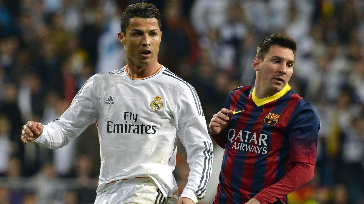 Cristiano y Messi luchan codo a codo por ser el goleador de la liga española