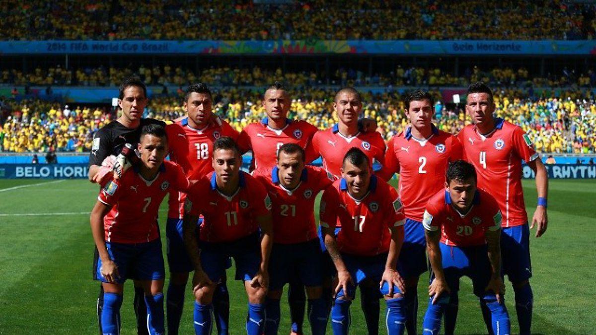Chile desciende un puesto en el ranking FIFA