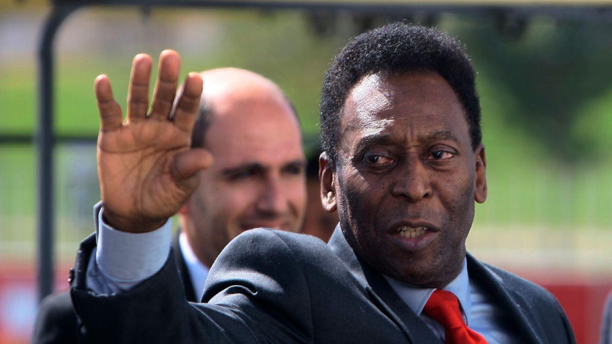 Pelé fue internado nuevamente en un hospital de Sao Paulo