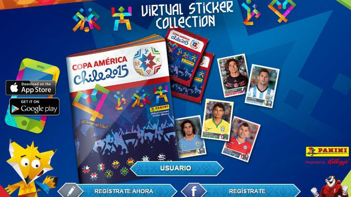 ¡Ya está disponible! Este es el álbum virtual de la Copa América 2015