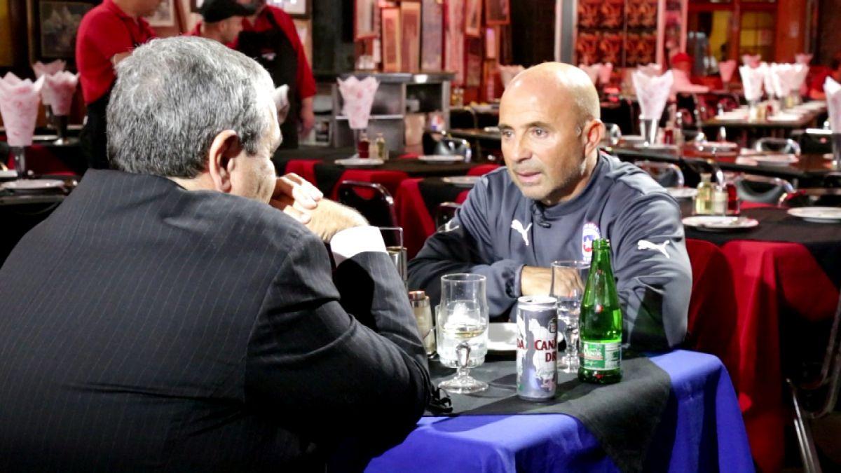 Sampaoli sale de Pinto Durán y entrega su apronte de cara a la Copa América