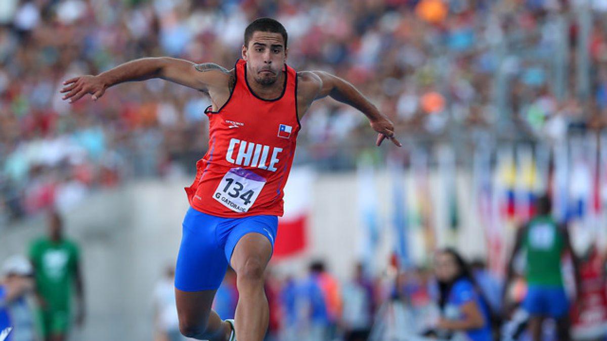 Álvaro Cortez rompió el récord más antiguo del atletismo chileno