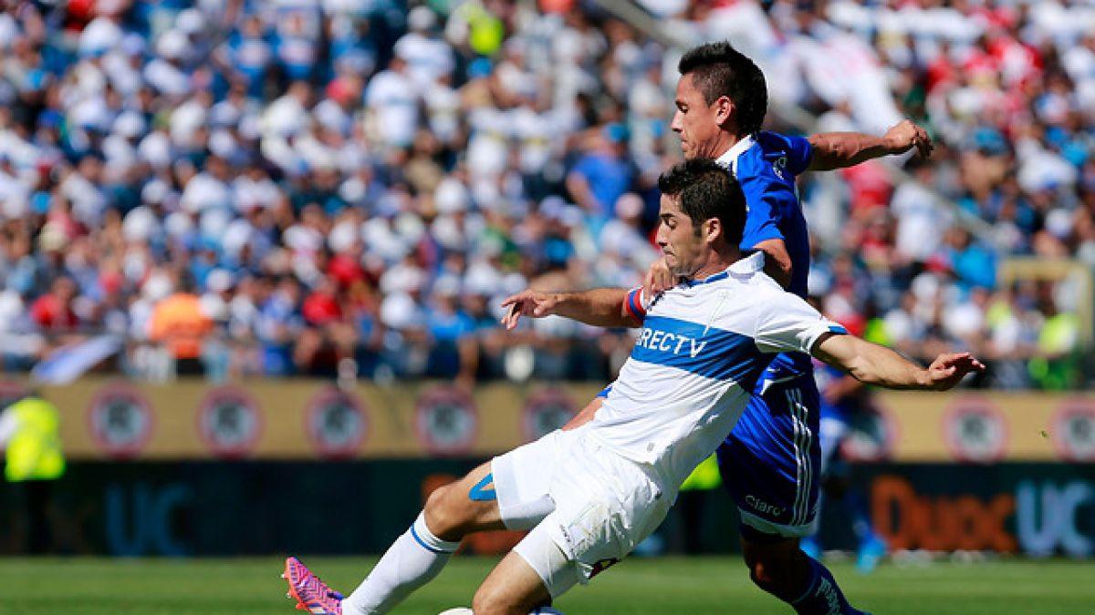 Cristian Álvarez se perderá el resto del Campeonato Nacional por una grave lesión