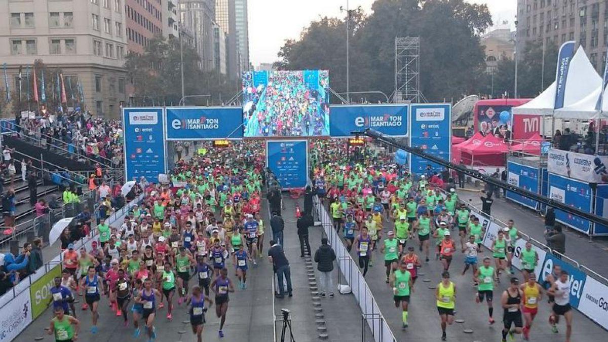 Seis consejos para recuperarse después de la exigente Maratón de Santiago