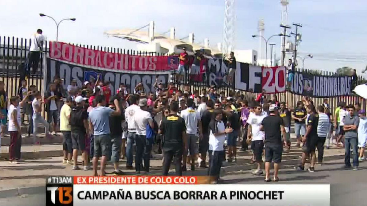 Asamblea de CSD Colo Colo dirimirá eliminación de Augusto Pinochet de los registros del club