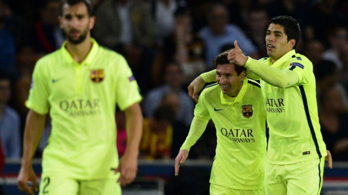 Barcelona golpea la mesa en Francia ante el PSG