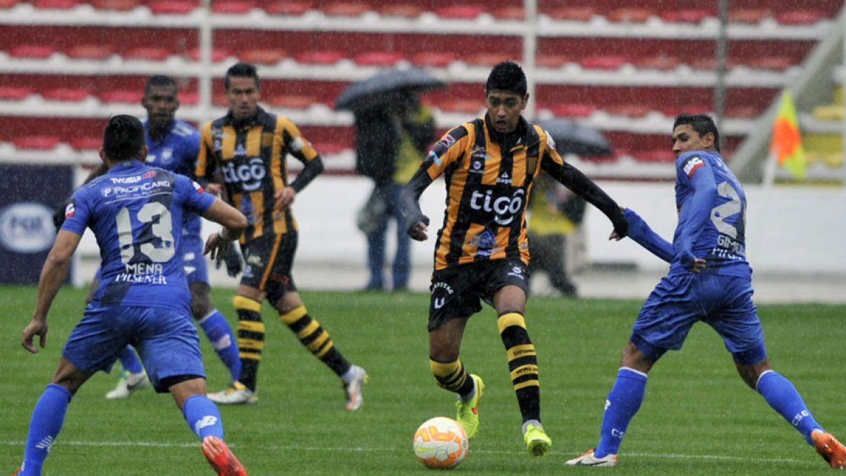 The Strongest venció a Emelec y mantiene a la U con opciones en Copa Libertadores