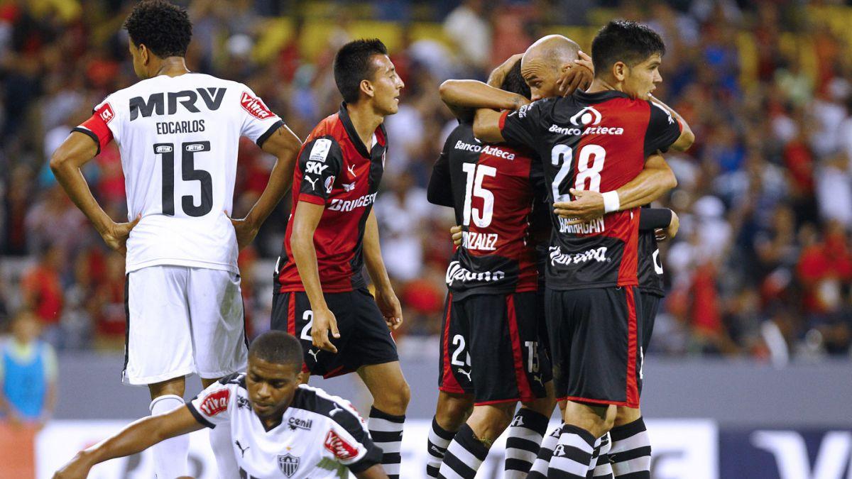 Atlas venció a Atlético Mineiro y enciende el Grupo 1 de Copa Libertadores