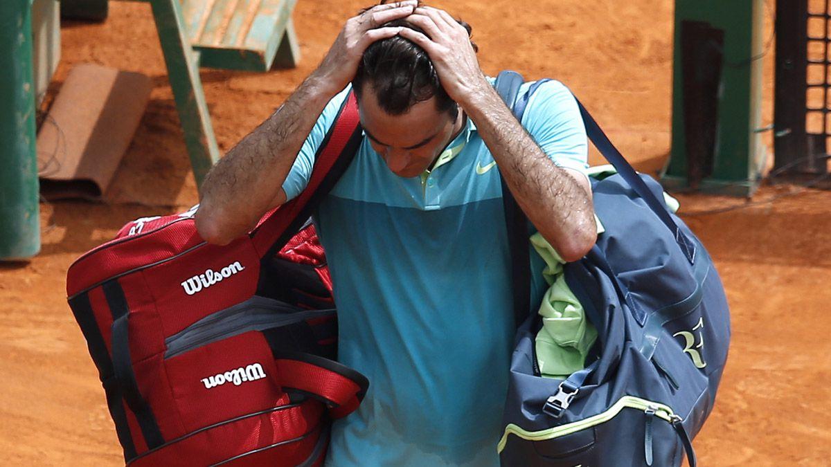 Eliminado: Roger Federer no pudo ante Monfils en Montecarlo