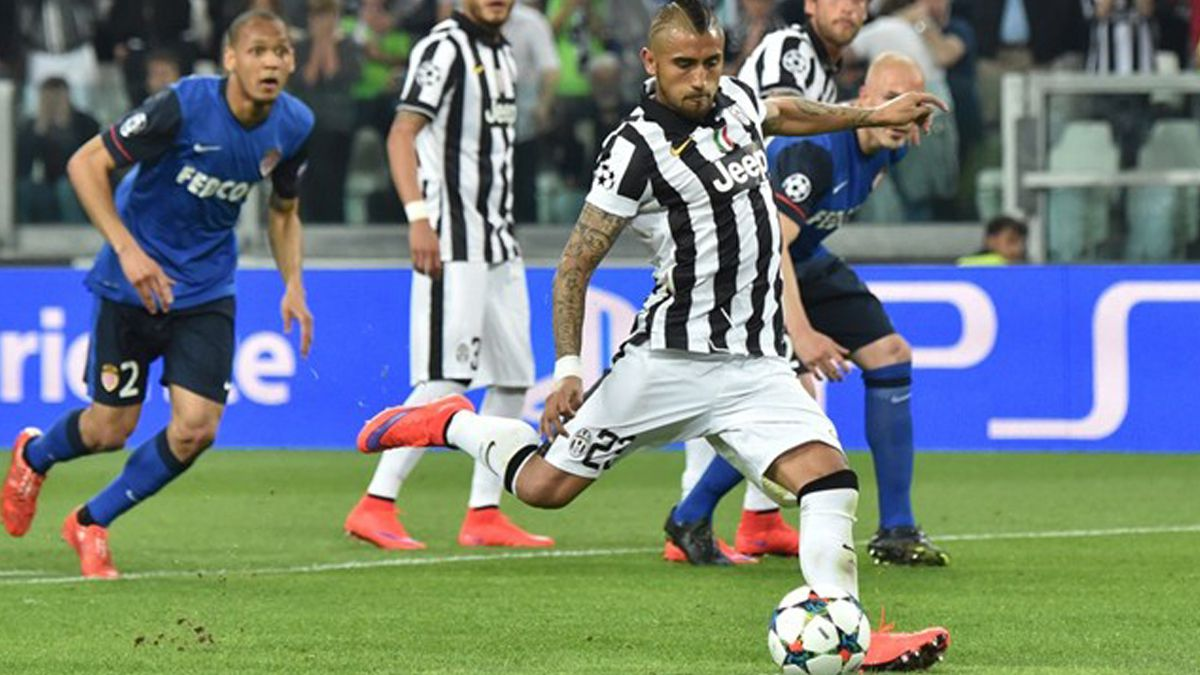 Vidal y 10 más: El chileno en la oncena ideal de la Champions League