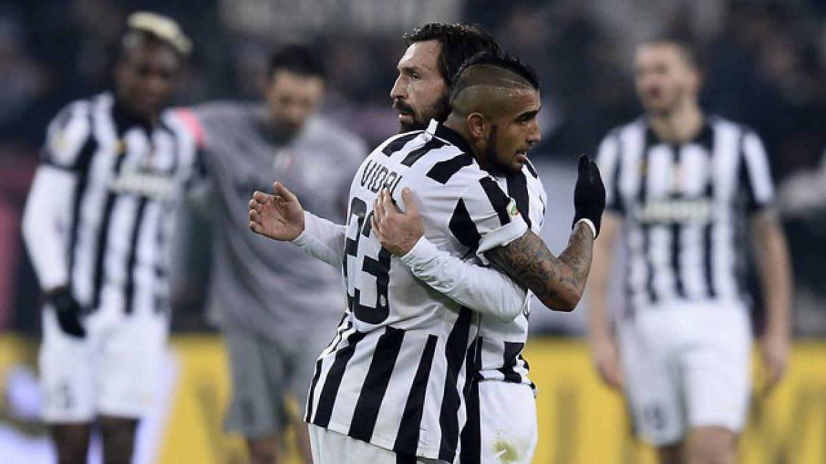 Vidal y la Juve siguen firme a su cuarto Scudetto consecutivo