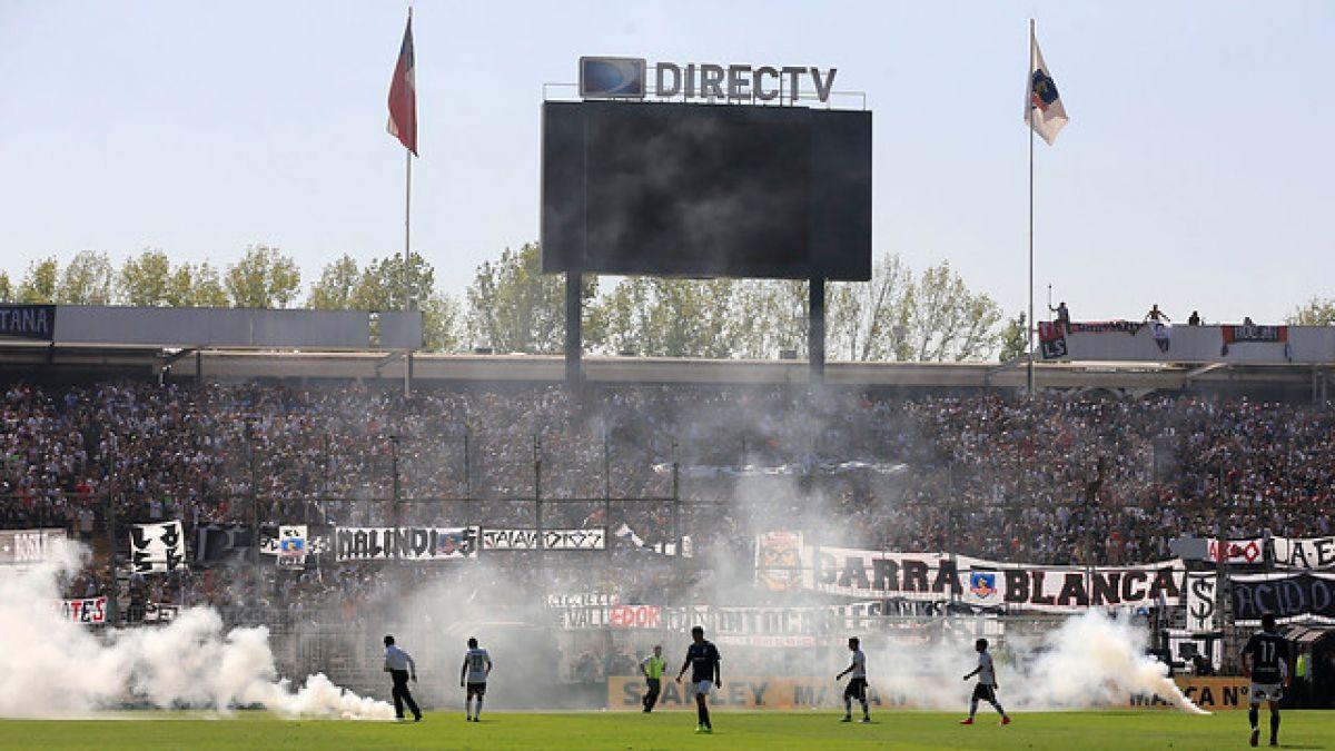 Hinchas de Colo Colo provocaron incidentes tras perder ante la UC