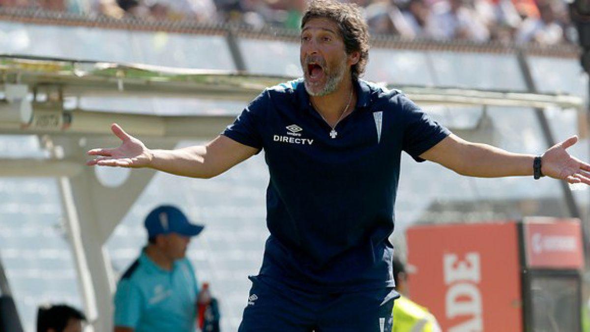 Mario Salas y triunfo ante Colo Colo: Hoy marcamos nuestro peak de rendimiento