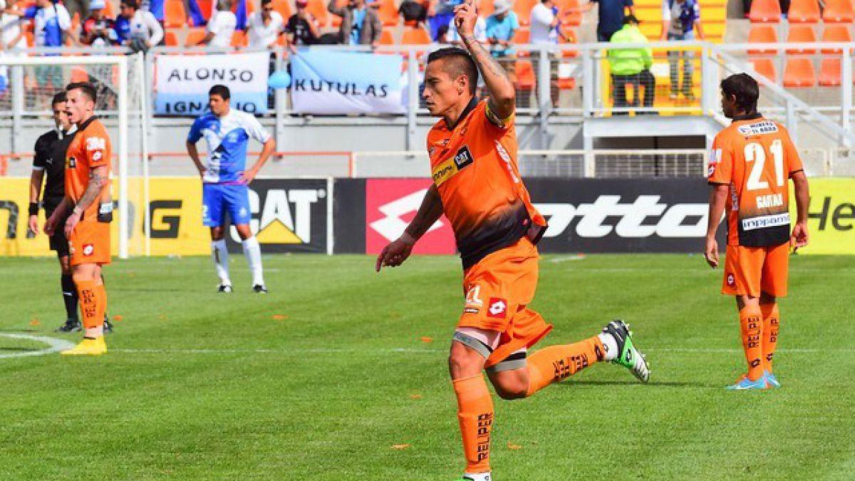 Cobreloa inauguró su estadio con una victoria vital ante Antofagasta