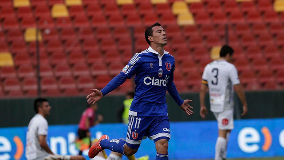 La U goleó al descendido Barnechea a dos fechas del final del Clausura