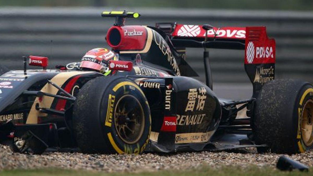 ¿Es el venezolano Pastor Maldonado el piloto más peligroso de la Fórmula 1?
