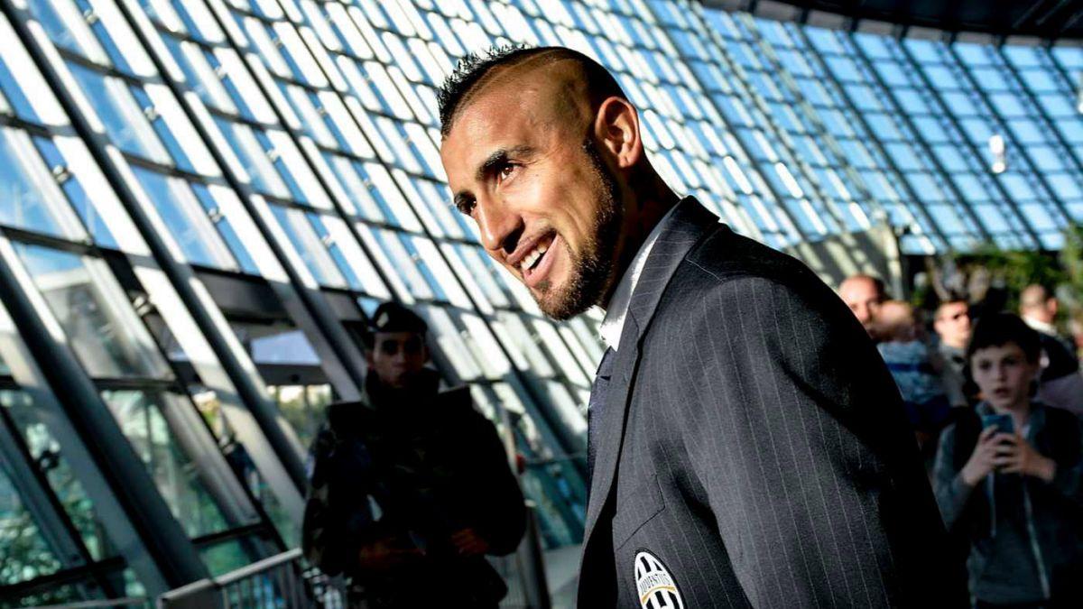 Vidal recuperado: Será titular en la Champions League
