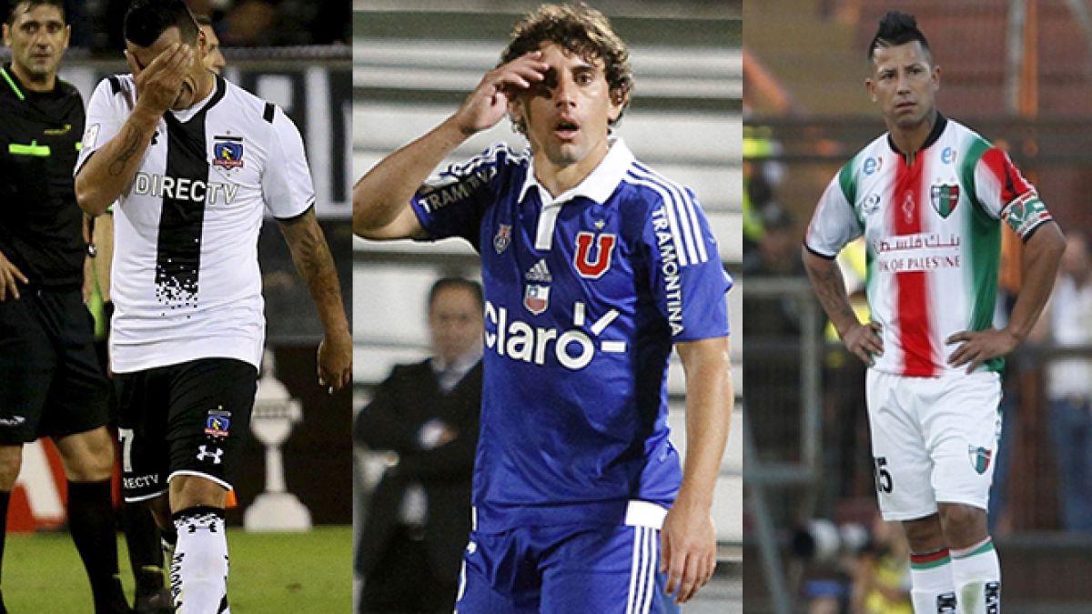 Mal desempeño: equipos chilenos ocuparon el penúltimo lugar en rendimiento en Libertadores