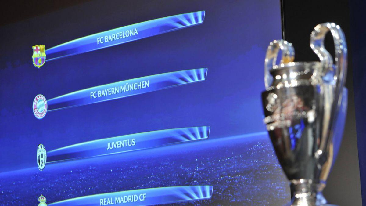 Sin cruce de chilenos: Así serán las semifinales de la Champions League