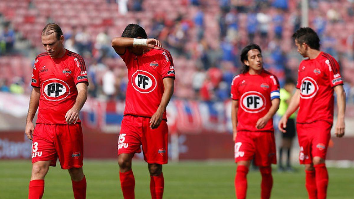 El panorama de los 4 equipos con riesgos de descender en Chile