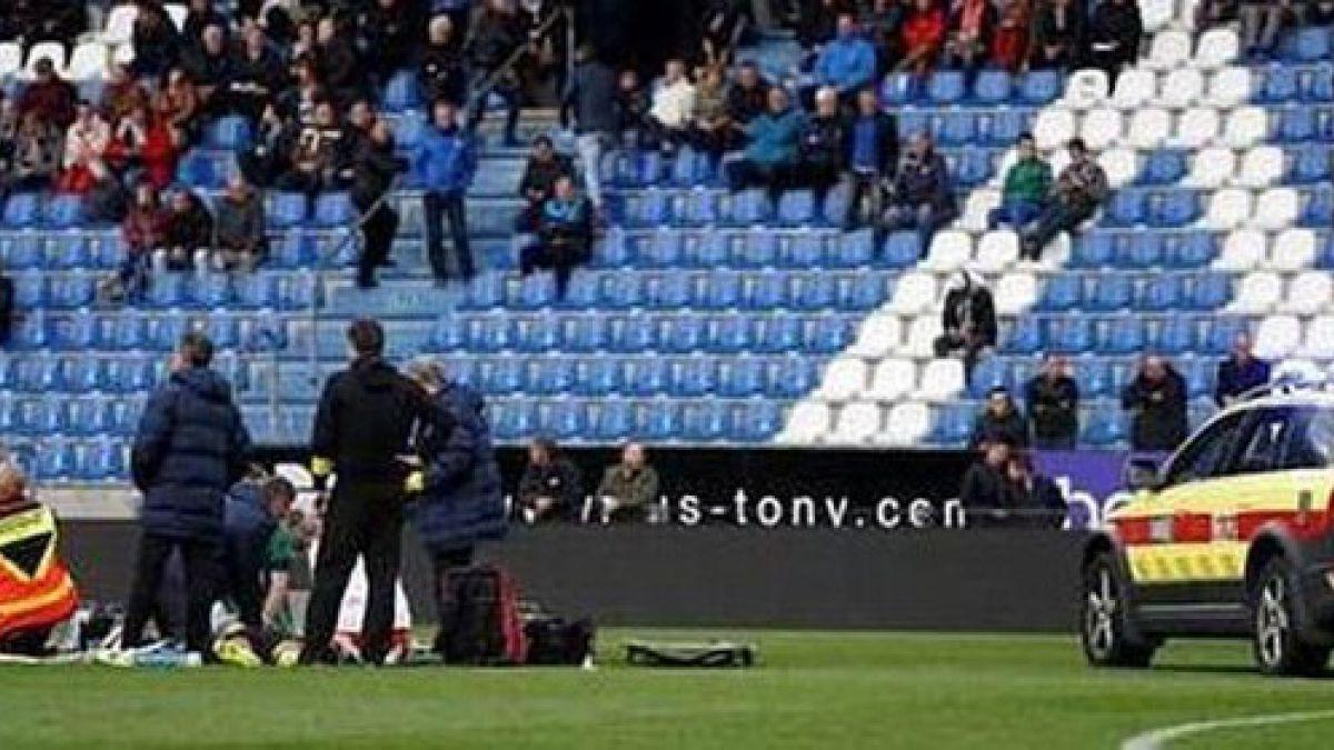 Jugador sufre infarto en pleno partido en Bélgica