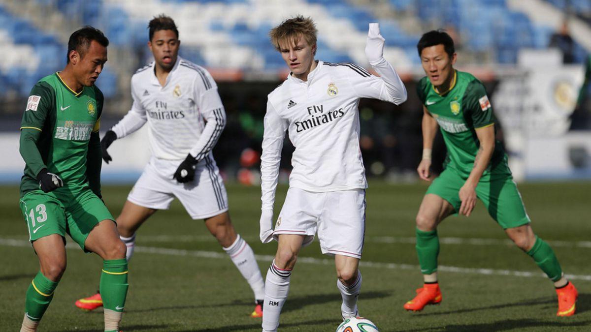 Con 16 años: Odegaard alista su debut con el Real Madrid