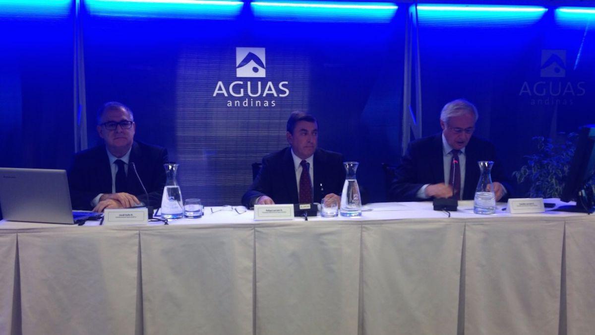 Aguas Andinas reconoce tres facturas a sociedad ligada a Jaime de Aguirre
