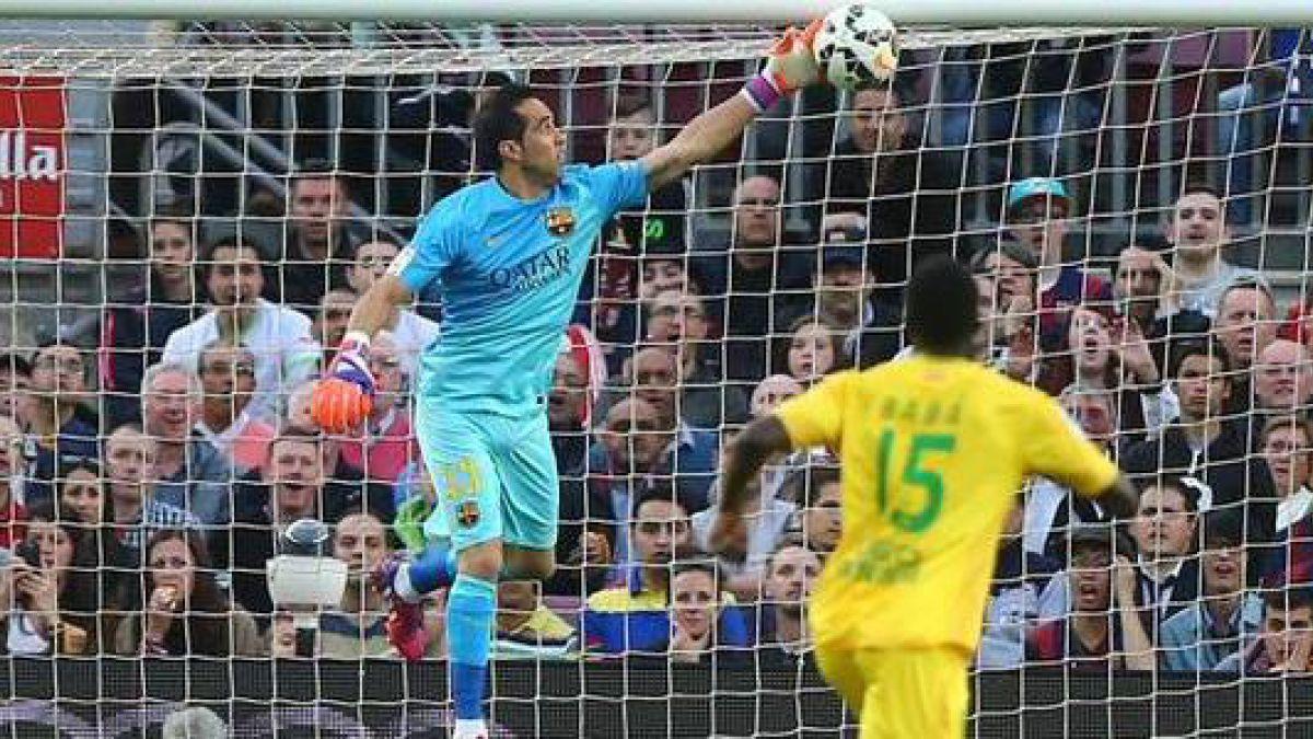 Los sorprendentes números de Claudio Bravo en el Barcelona campeón