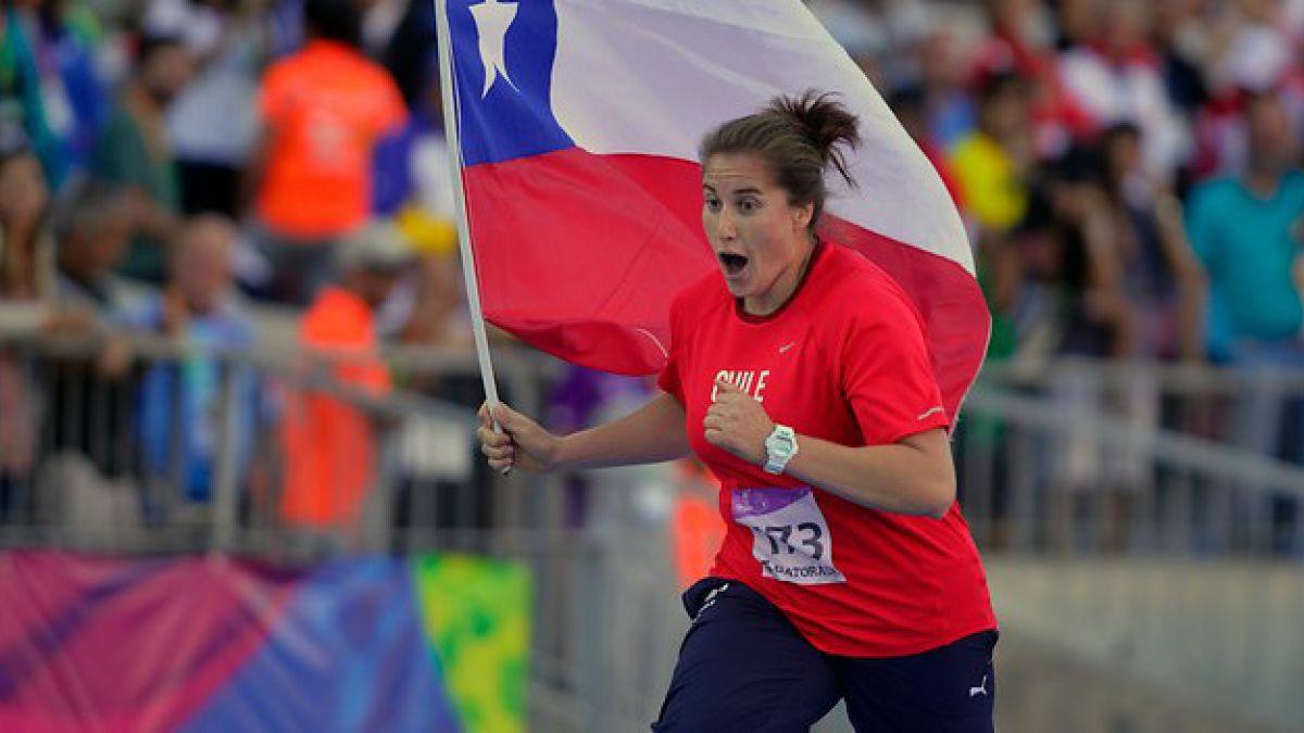 Lanzadora de disco chilena sufrió corte de luz en pleno entrenamiento
