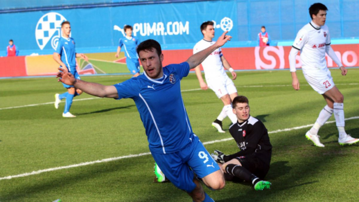Ángelo Henríquez anota tres goles y se consagra campeón con el Dinamo Zagreb