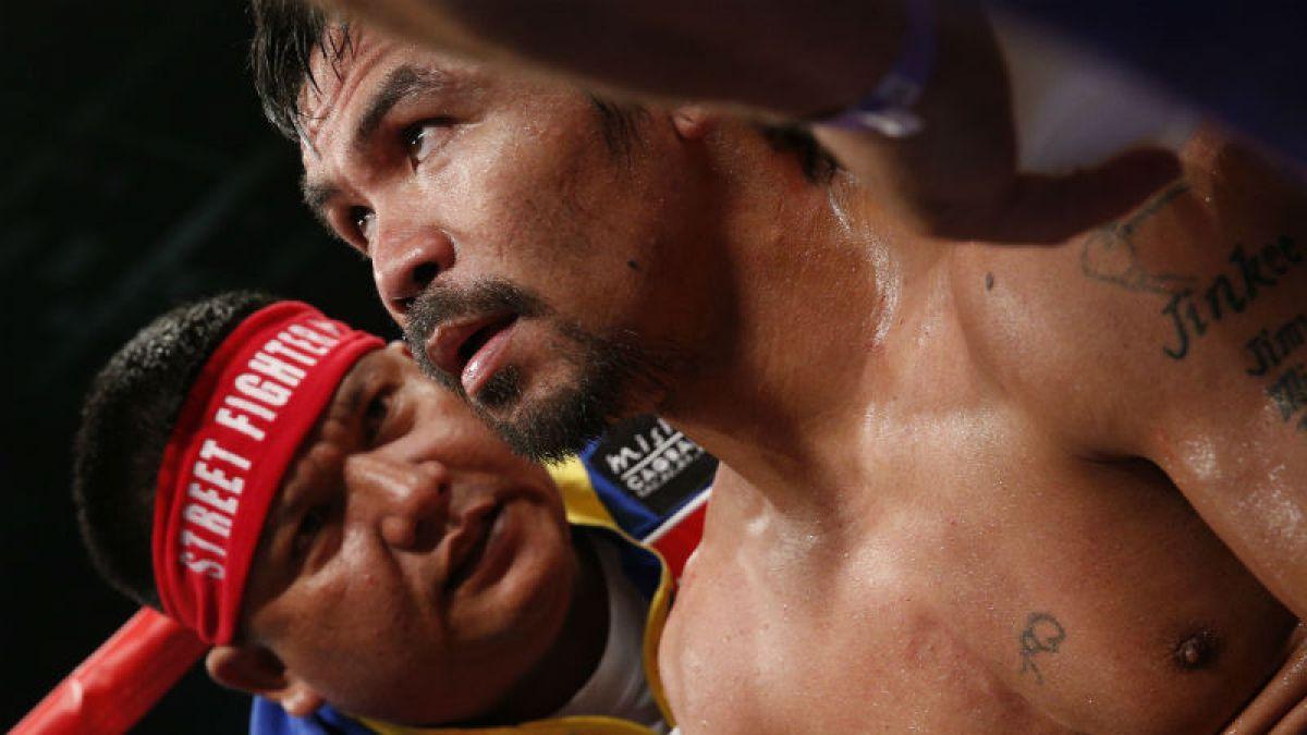 Manny Pacquiao donará lo que ganó en la pelea del siglo con Mayweather