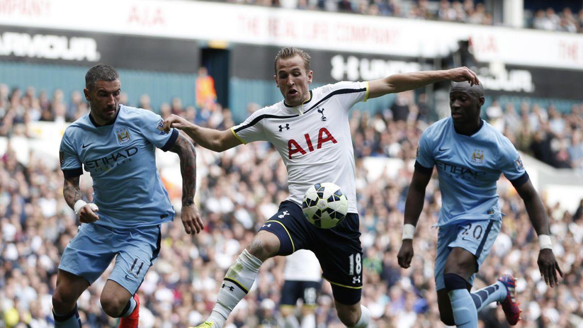 Sergio Agüero le da el triunfo a Manchester City sobre Tottenham
