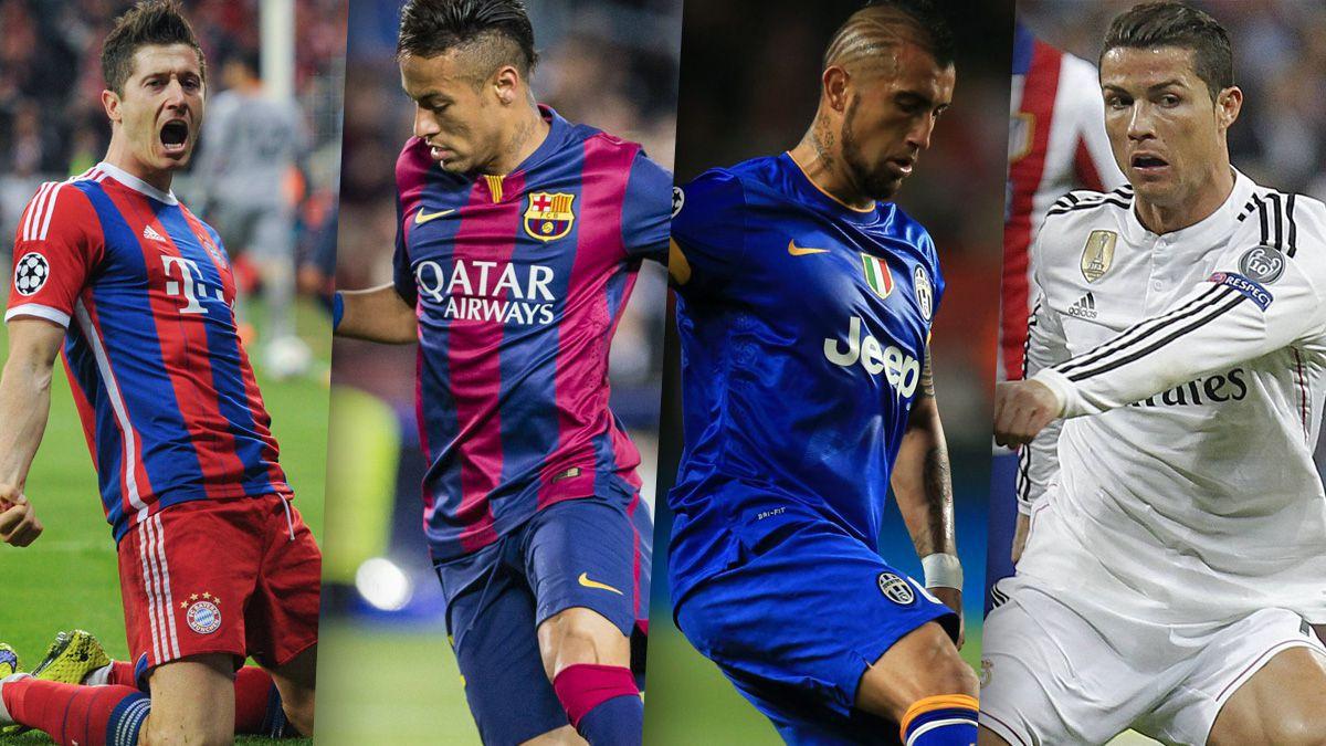 Champions League: dos semifinales de sueño se jugarán en Europa